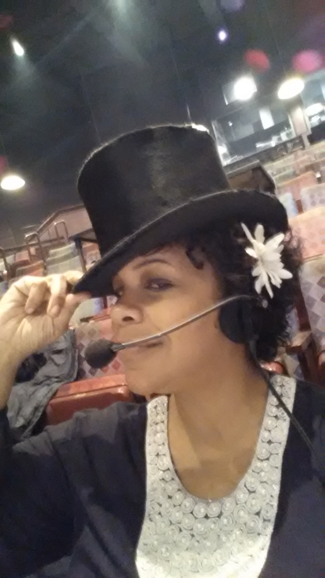 What She Looks Like: Carmelita Becnel, Stage Manager